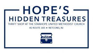 Hope's Hidden Treasures Thrift Shop @ Stanhope United Methodist Church